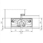 TE3403Dtech block frame