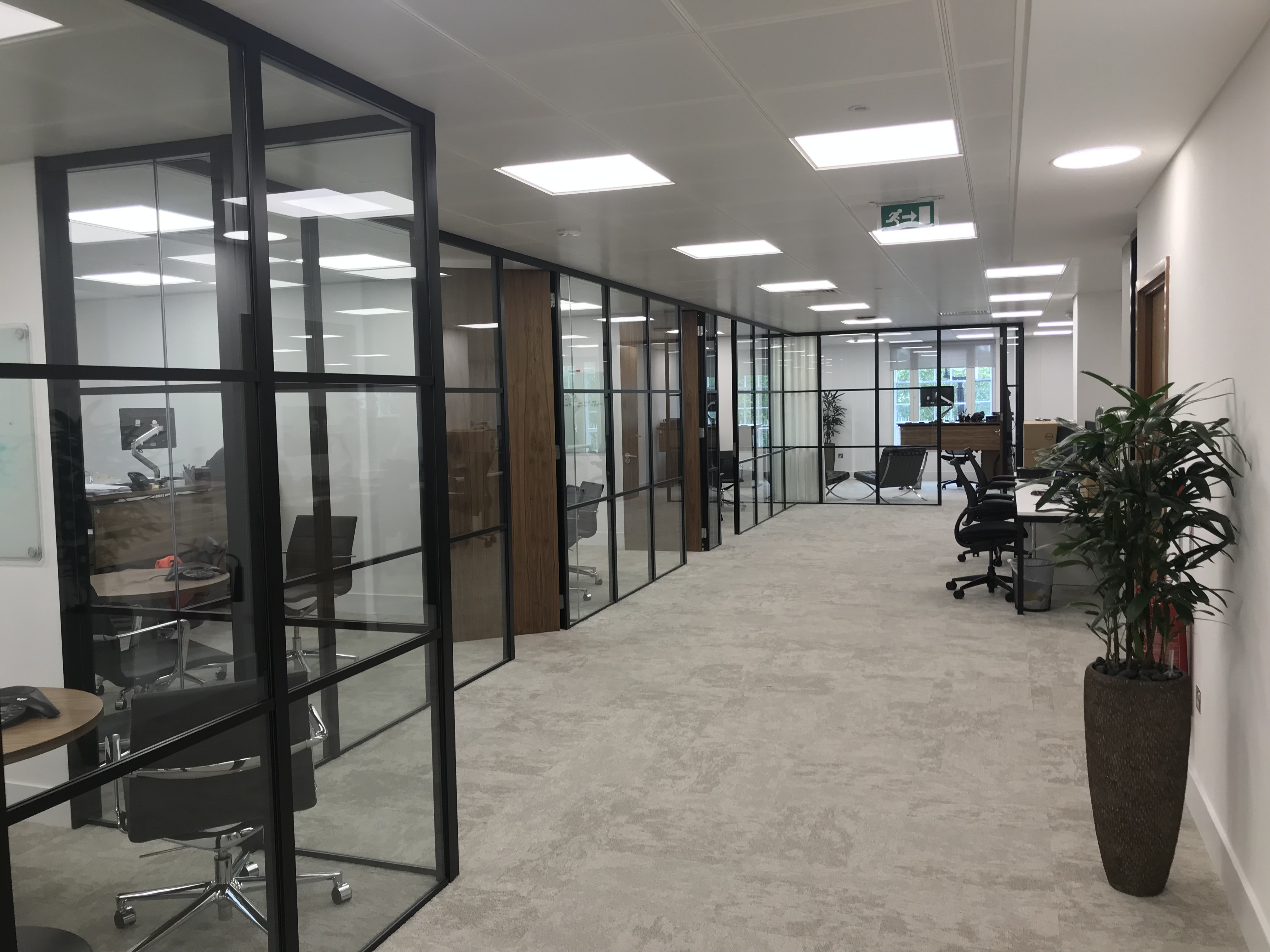 High specification office refurbishment