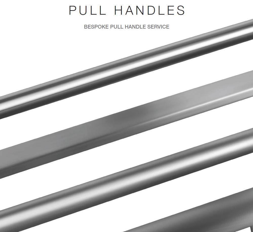 Bespoke pull handles