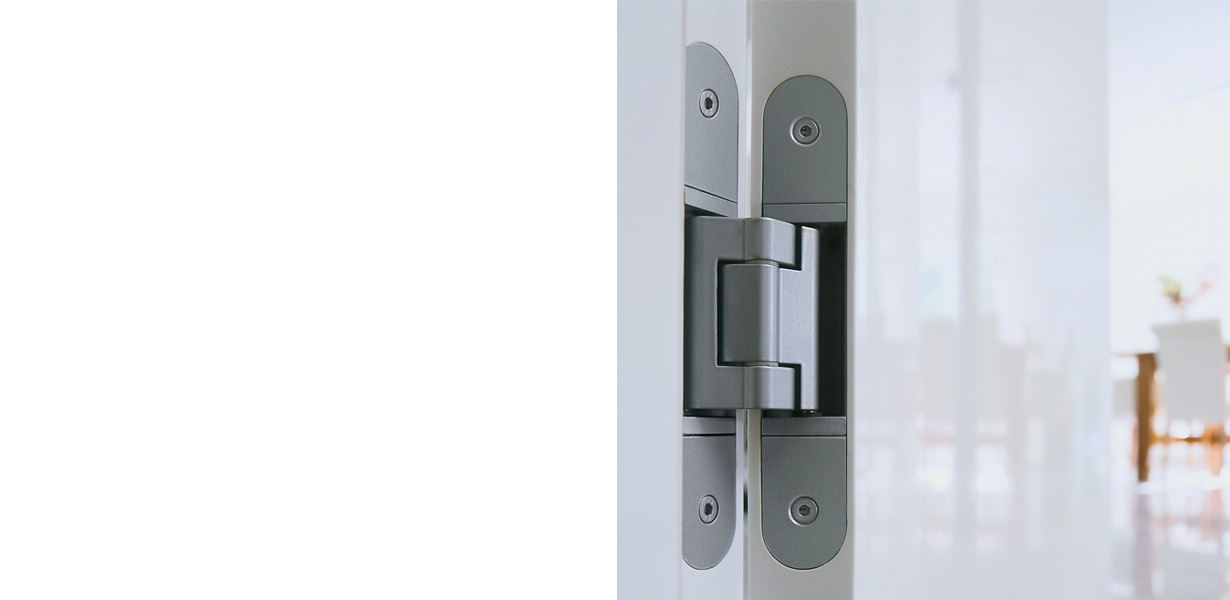 ARMADA concealed 3D door hinges